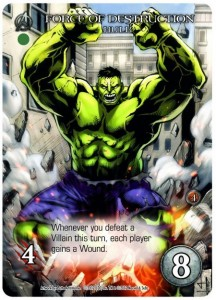 Legendary Marvel Deck Building Game Халк