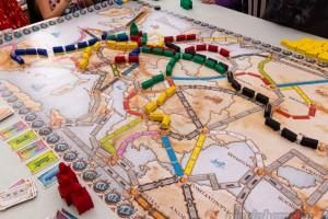 Процесс игры Ticket to Ride: Европа