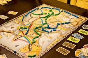 Ticket to Ride: Европа за столом